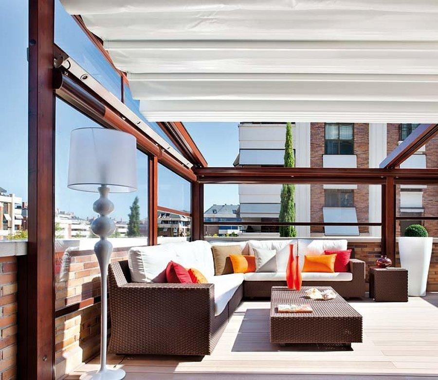 10 ideas geniales para cerrar tu balc n o terraza ideas On se puede cerrar una terraza