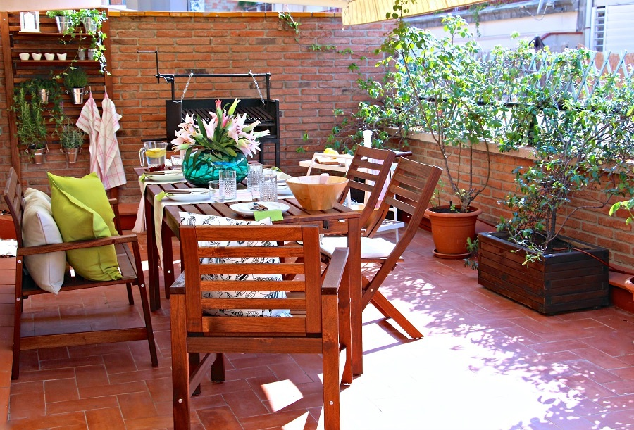 Los mejores complementos de ikea para tu terraza ideas for Mobiliario de terraza ikea