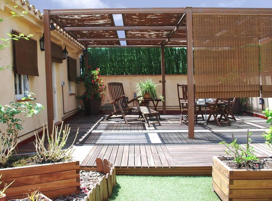 terraza con prgola - Pergola Terraza