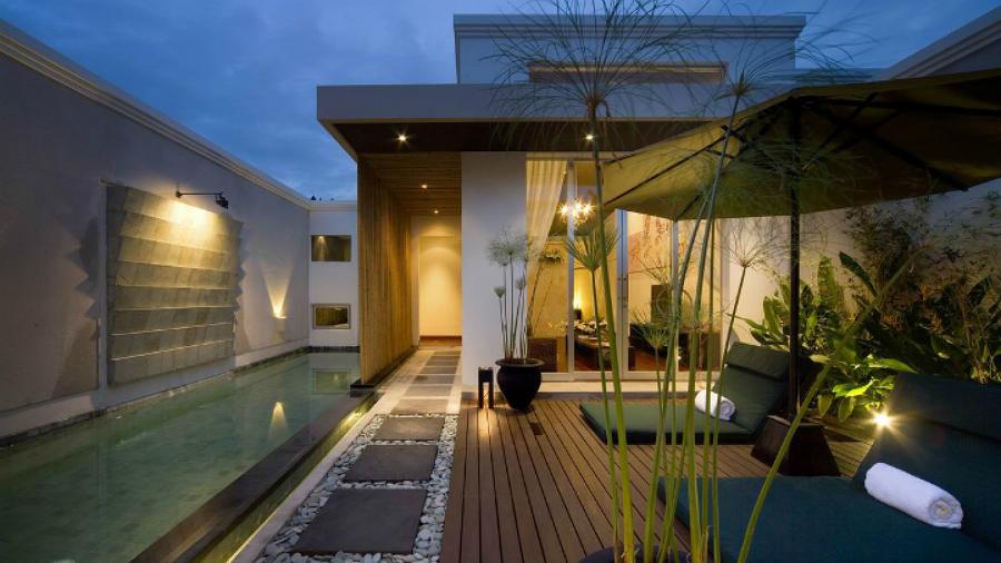 8 maneras de iluminar tu jard n o terraza ideas - Piscinas para terrazas aticos ...