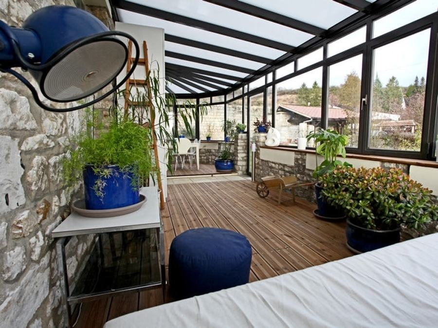 terraza cubierta