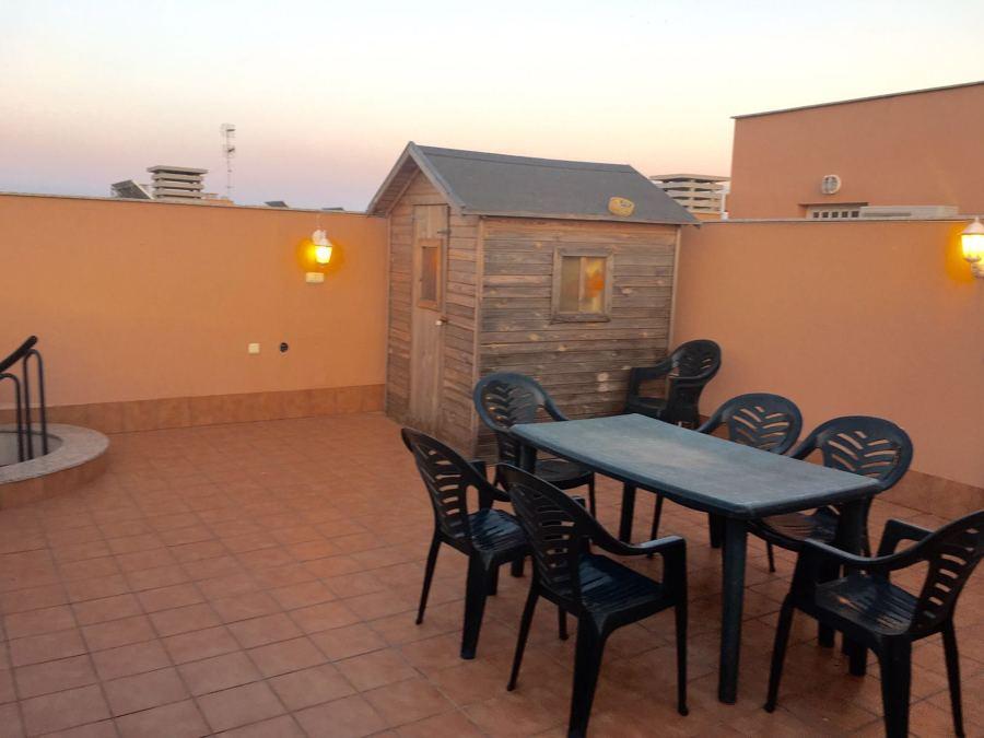 Terraza de apartamento