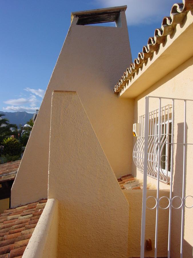 Terraza de la Viivenda en Marbella