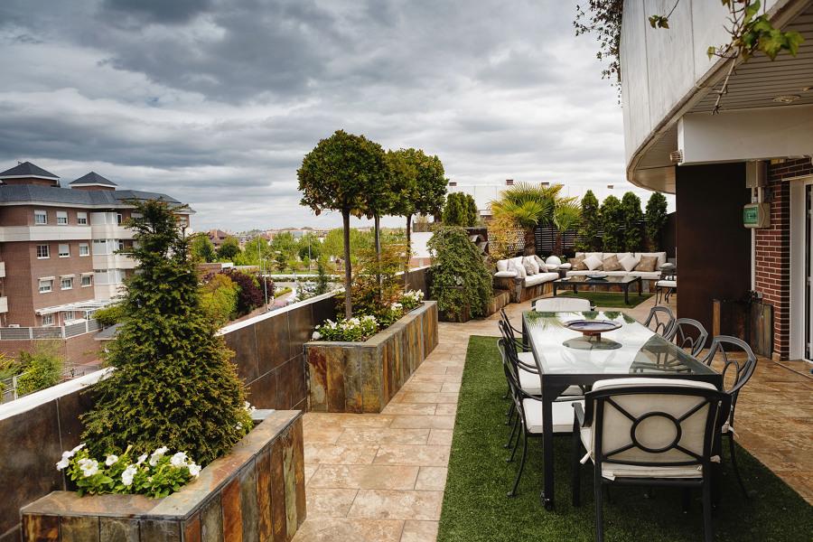 Un espacio ideal para disfrutar de la terraza todo el a o for Paisajismo de terrazas