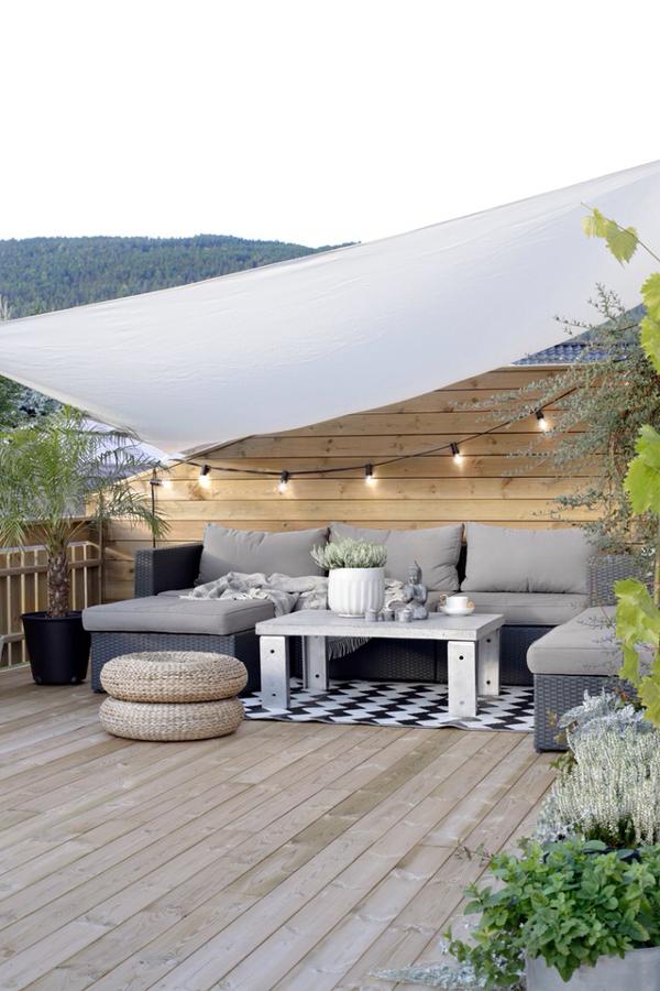 terraza en ático chill out