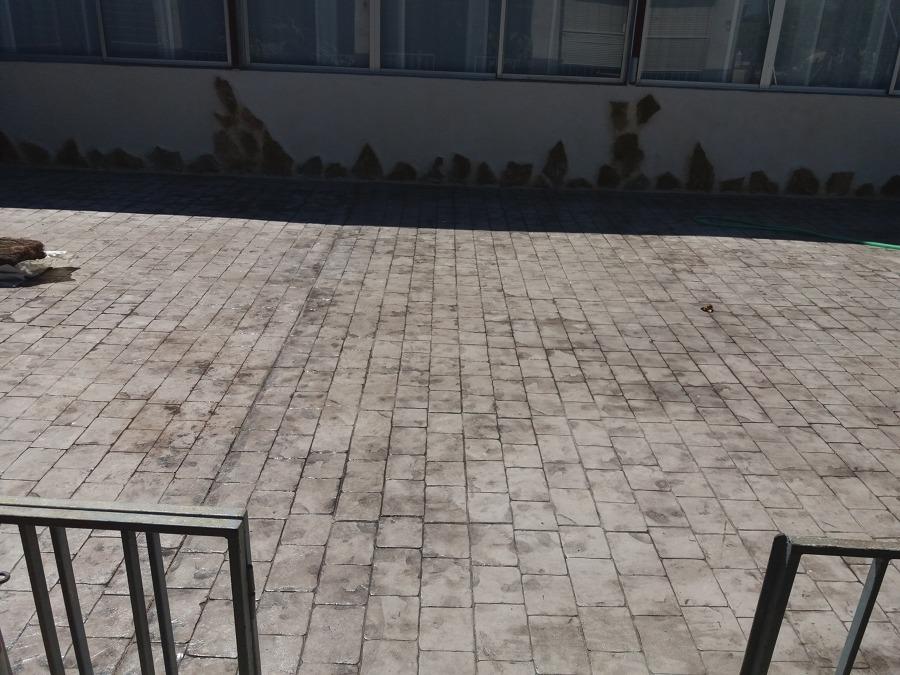 terraza gris pizarra en restaurante martino (elche)