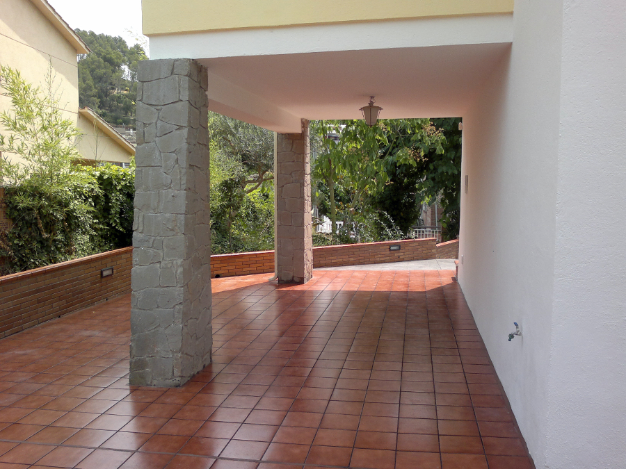 Terraza lateral