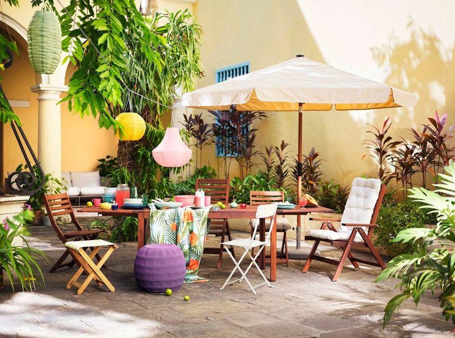 Terraza nueva colección verano 2020 IKEA