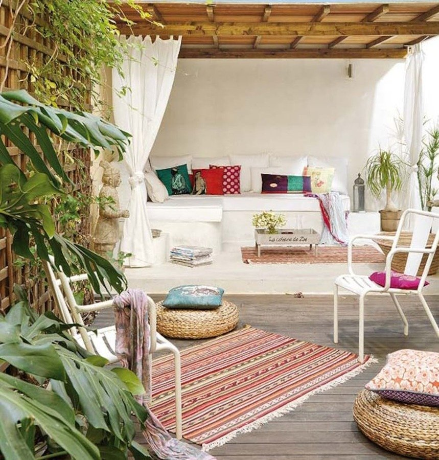 10 terrazas de airbnb en las que perderse e inspirarse for Terrazas ibicencas