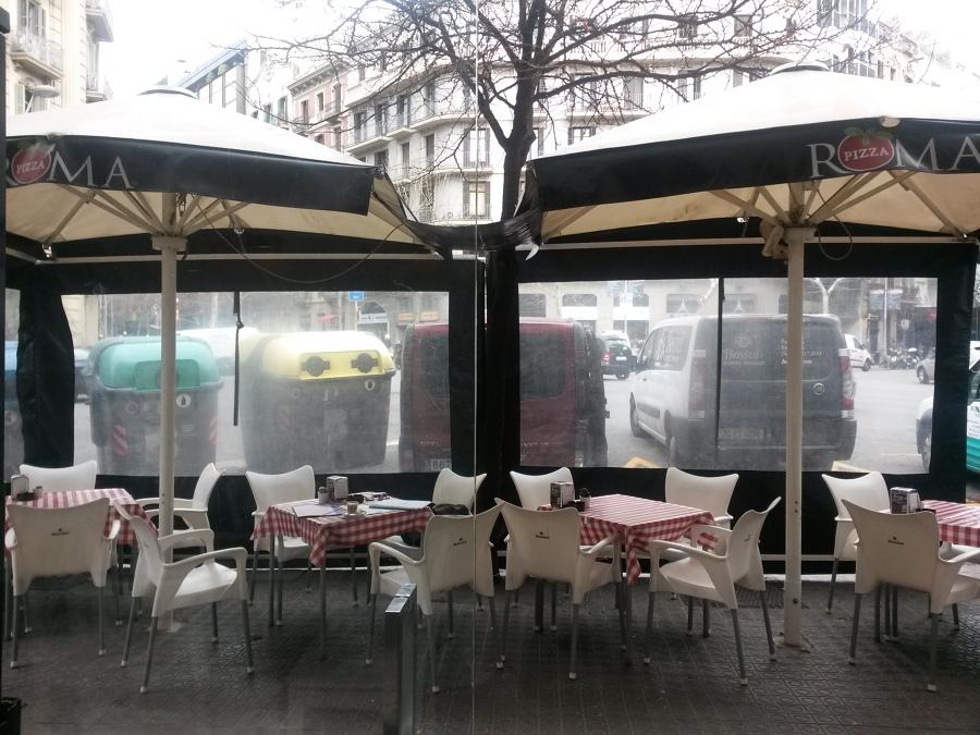 Terrazas bar restaurante ocupaci n v a p blica ideas for Cerramiento terraza sin licencia