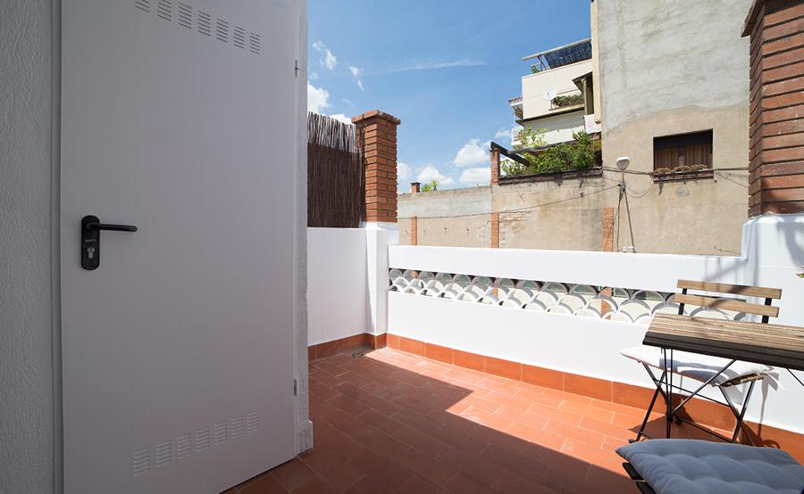 Terraza tradicional