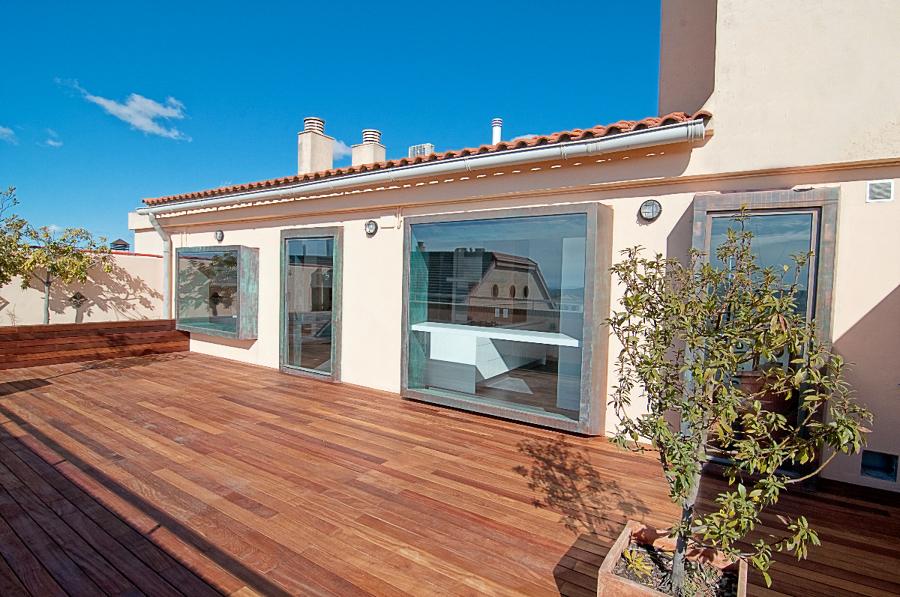 terraza vivida