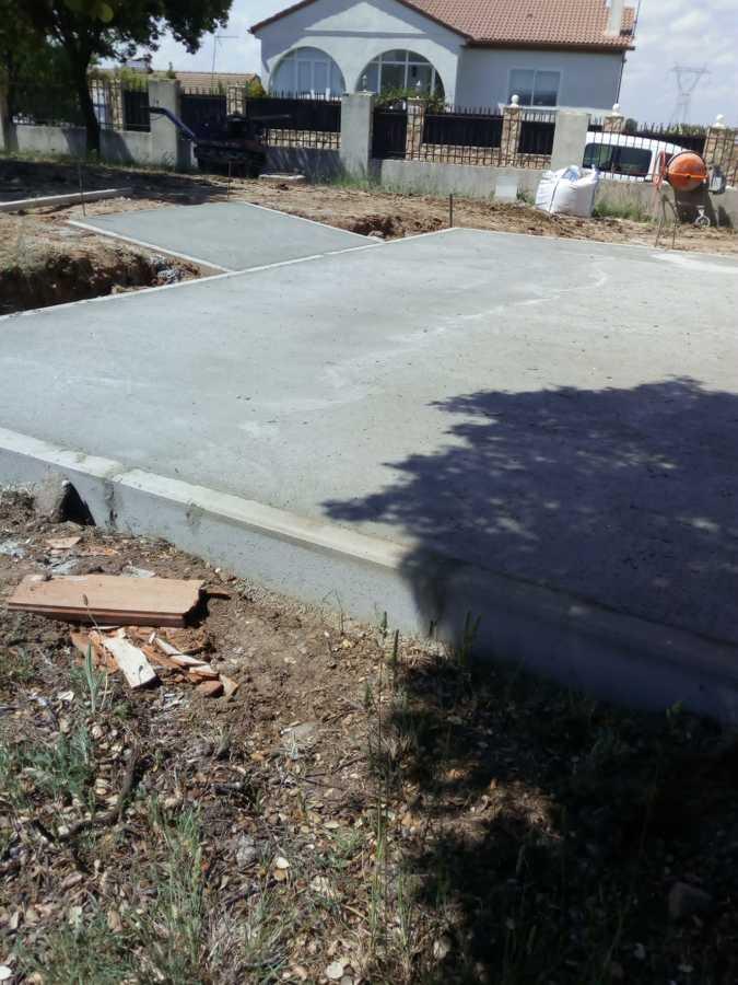 Terraza y rampa terminada