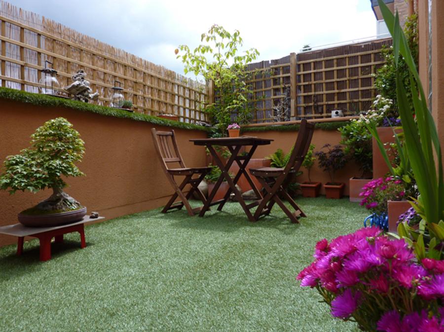 C mo decorar el jard n con celos as ideas reformas viviendas for Celosia terraza