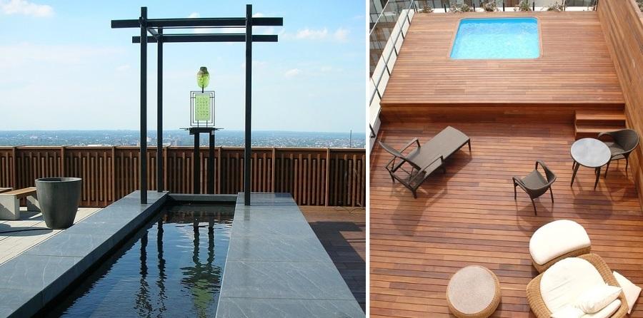 Terrazas en ticos un placer en las alturas ideas - Fotos terrazas aticos ...