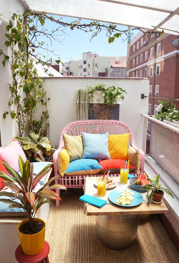 las ideas que m s han triunfado en 2016 ideas decoradores On mobiliario para terrazas pequeñas