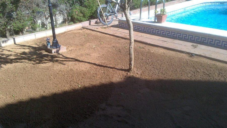 Terreno preparado para los tepes