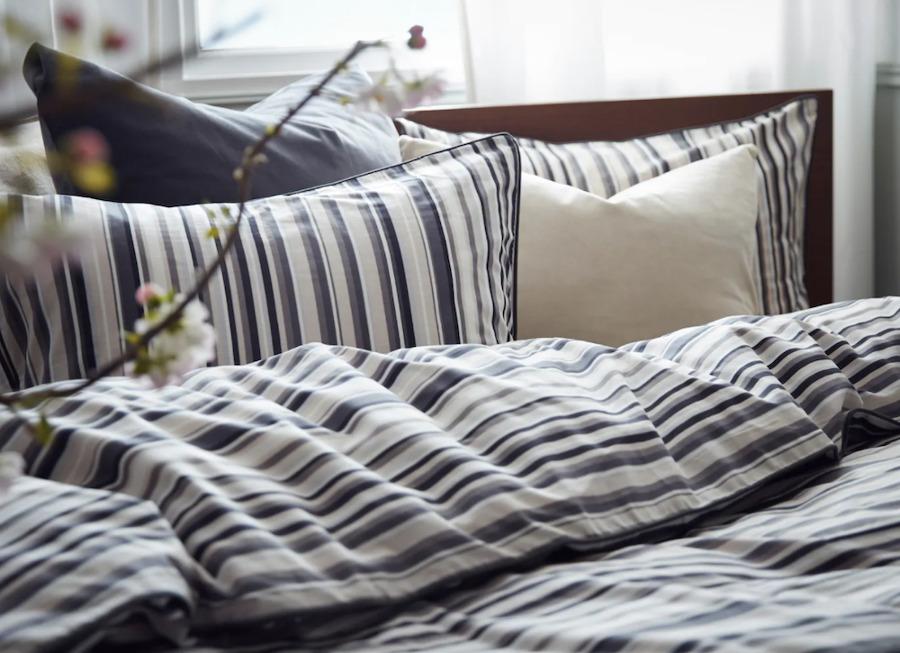 Textiles de cama de algodón sostenible de IKEA