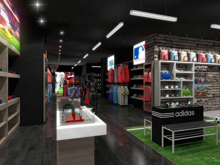 Tienda de art culos deportivos ideas reformas locales for Decoracion deportiva