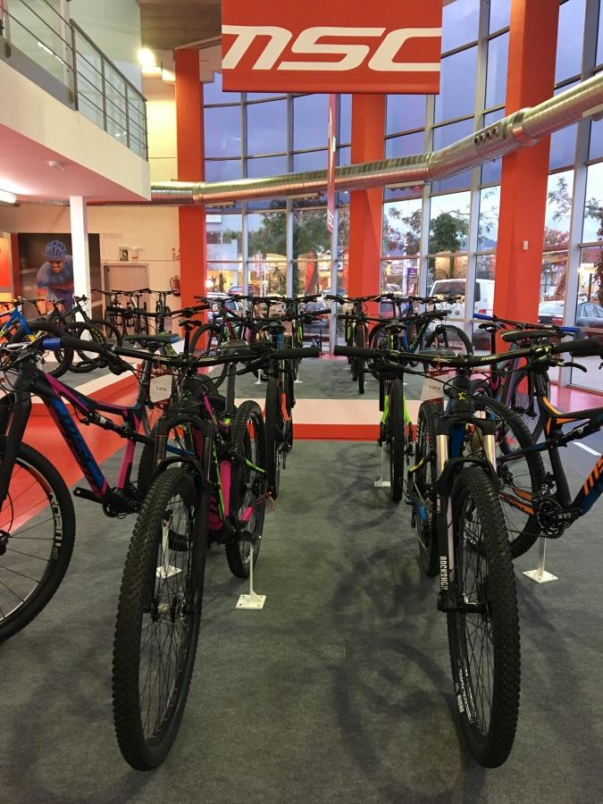 Tienda de bicicletas acabada