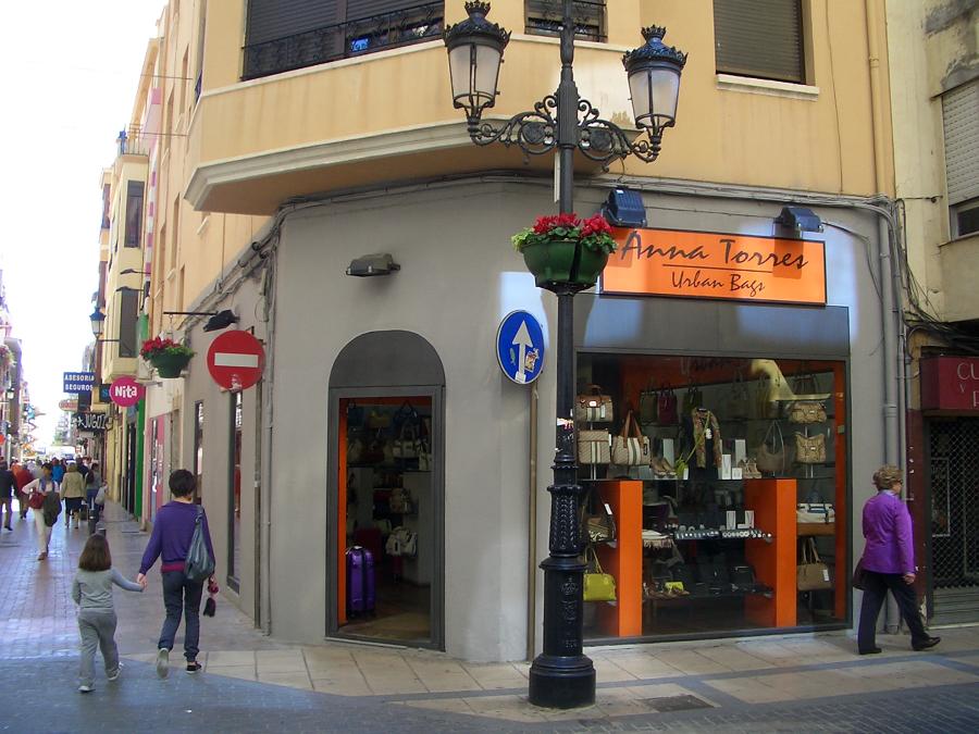 tienda de bolsos