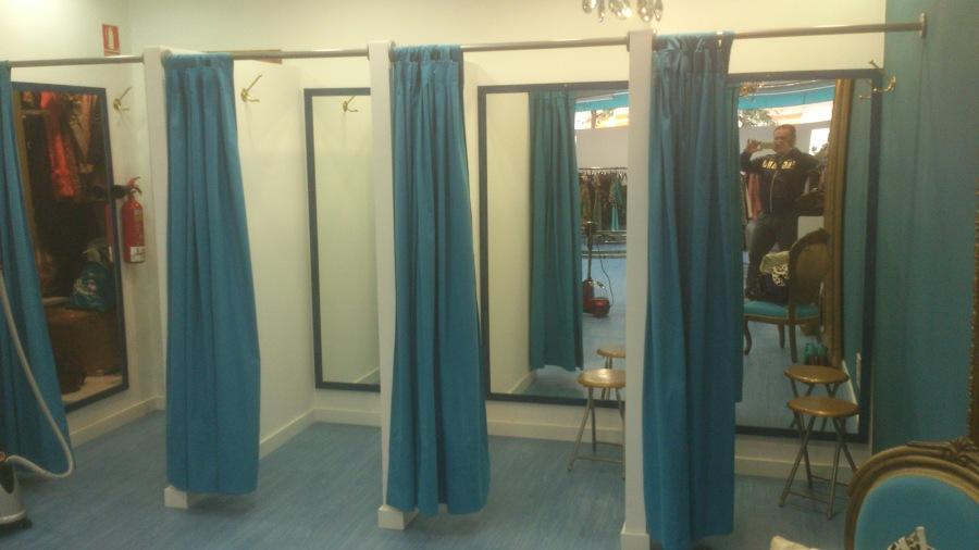 Reforma tienda ideas reformas locales comerciales for Probadores de ropa interior