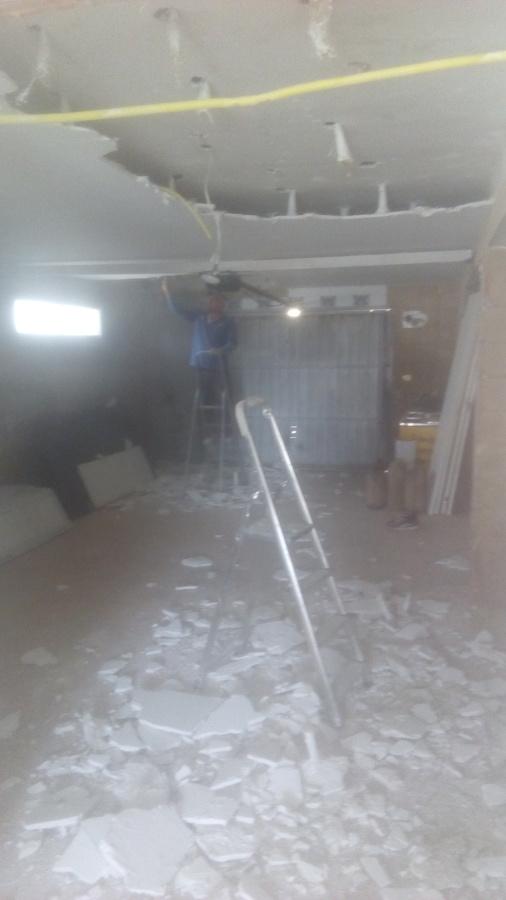 tirar el techo viejo