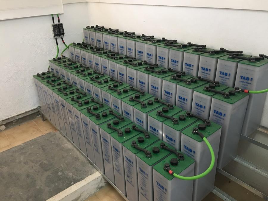 Todas la baterías de éste cliente....