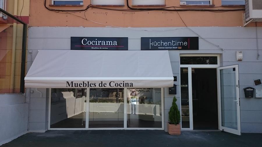 Toldos fachada local comercial cocirama ideas toldos for Toldos para locales