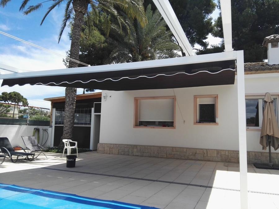Como hacer un toldo simple carpa para playa cartagena - Nebulizador casero para terraza ...