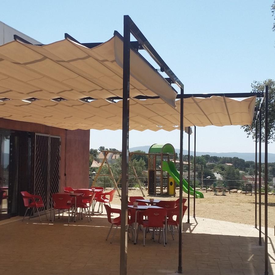 Toldos correderos en barcelona ideas carpinter a aluminio - Toldos en barcelona ...