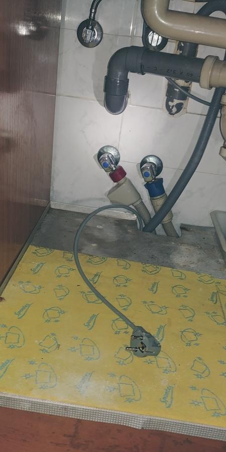 Toma de agua conectada a red