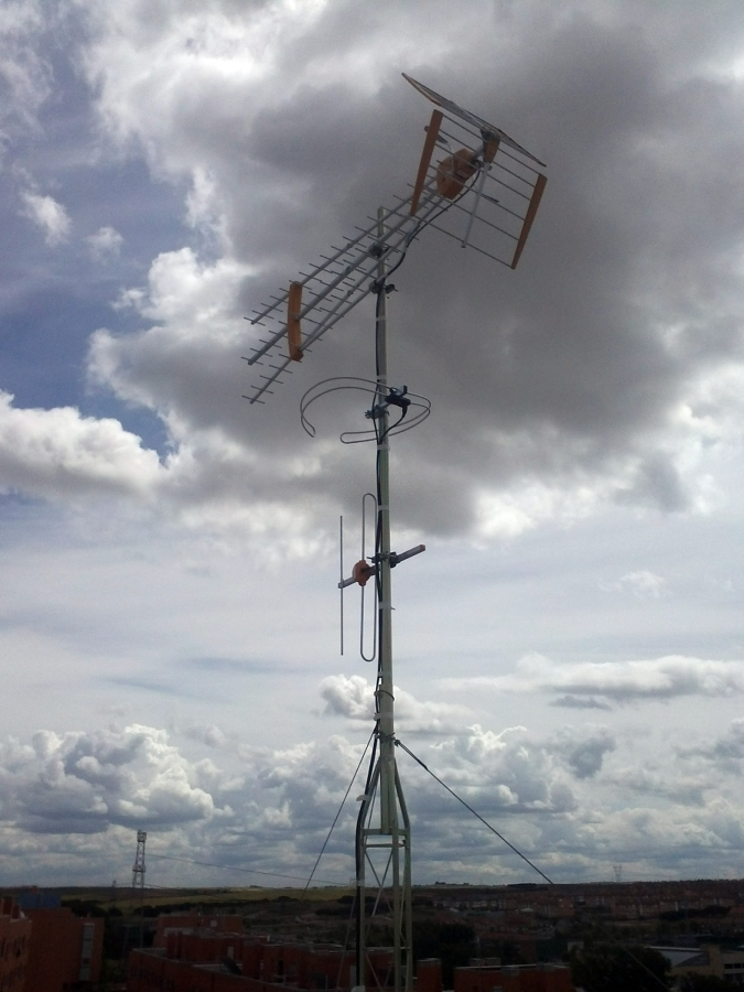 Torreta 1 tramo + antenas