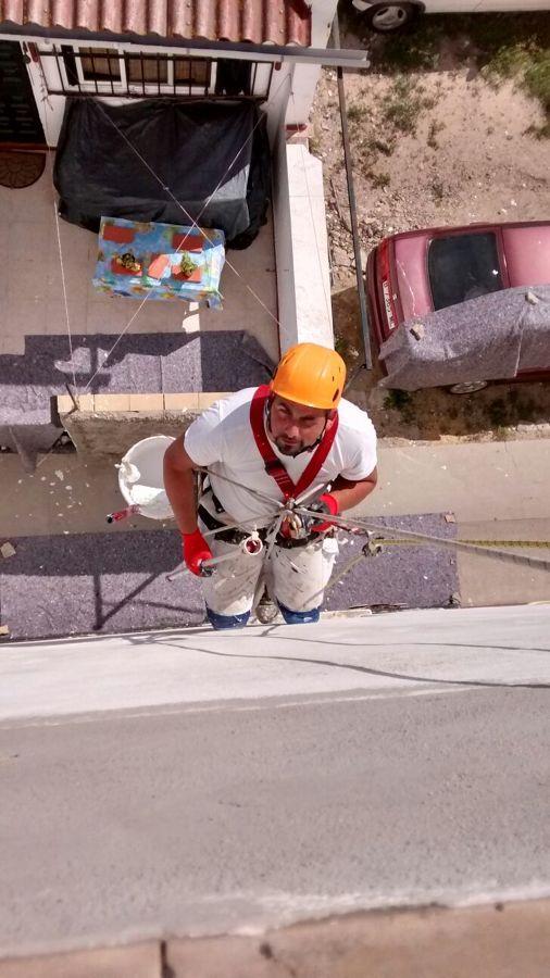 trabajo verticales restauracion de fachada