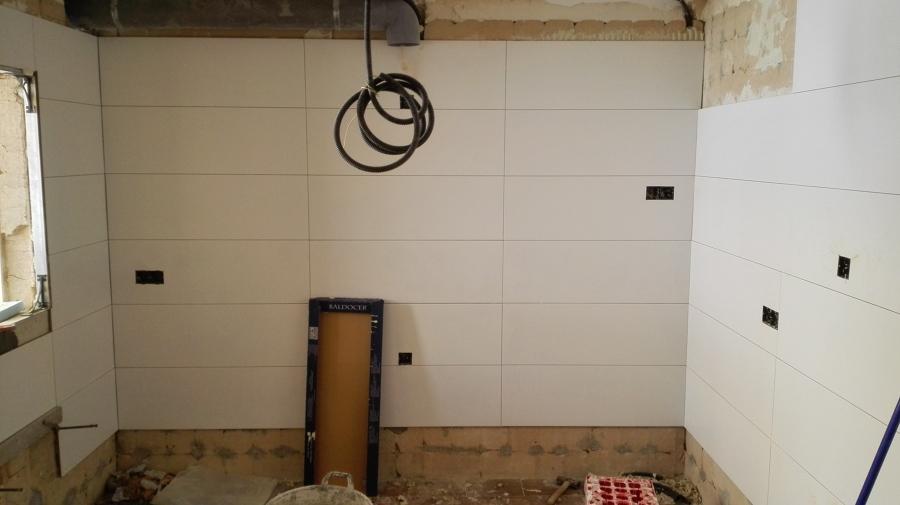trabajos de paredes cocina
