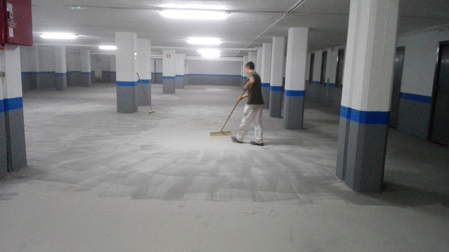 Trabajos en suelo