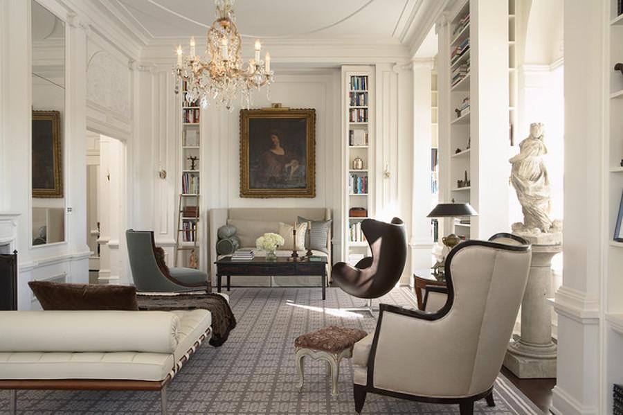 Diferencias entre estilo cl sico y estilo colonial ideas for Diferencia entre halla y living room