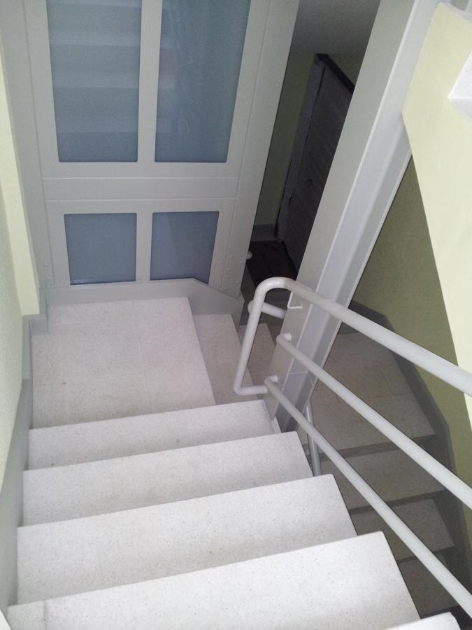 Tramo intermedio hueco escalera
