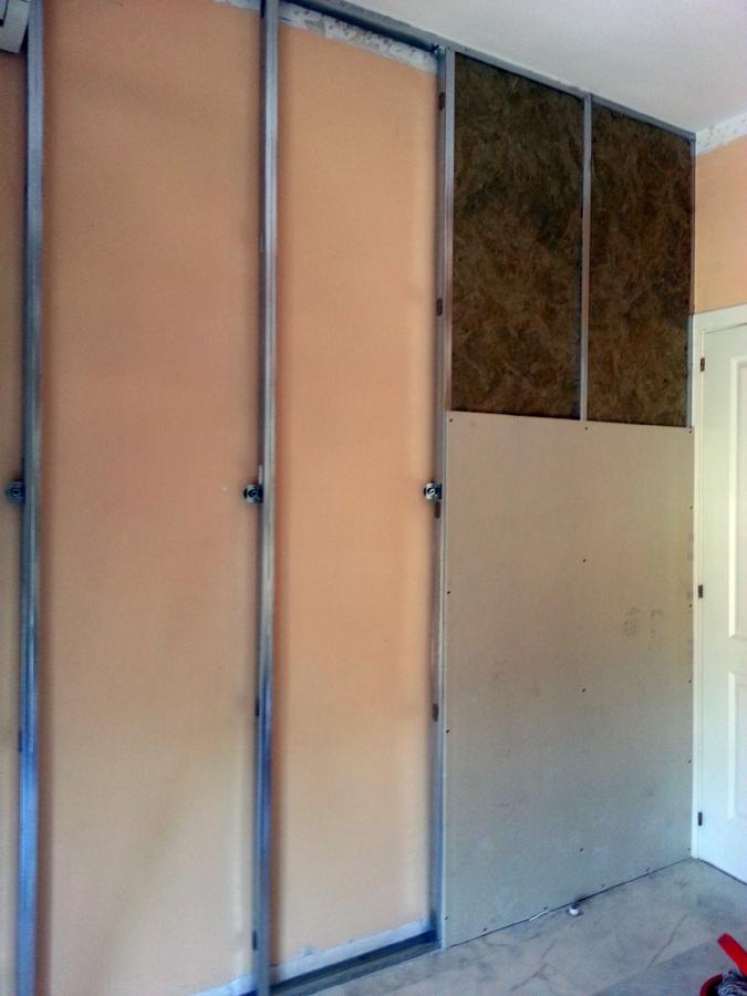 Foto trasdosado de aislamiento ac stico en pared medianera de vivienda de sms 433326 habitissimo - Aislante acustico para paredes ...