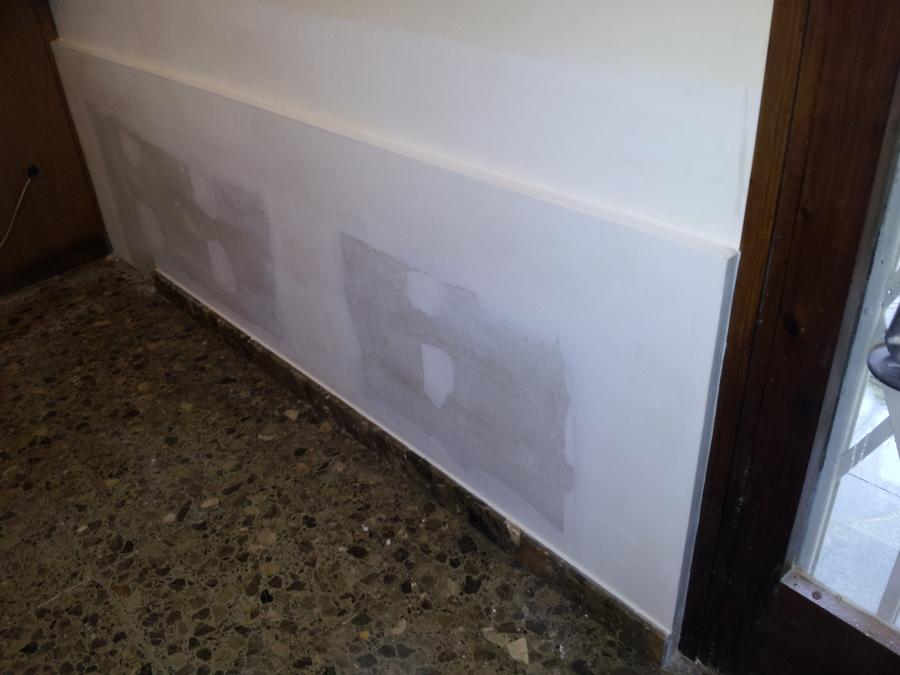 Trasdosado de pladur con placa ppv con barrera de vapor - Precios placas de pladur ...