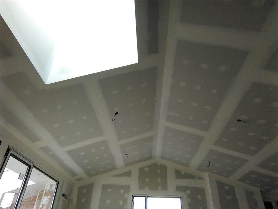 Trasdosado y falso techo buhardilla