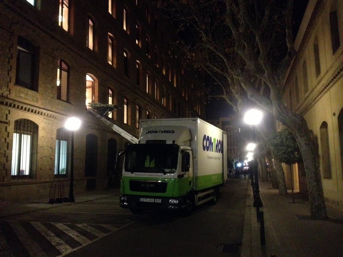 Traslado de oficinas en tiempo record ideas mudanzas for Horario oficinas bankinter madrid