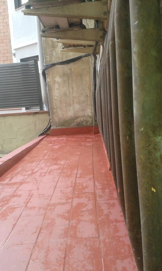 tratamiento antihumedad + pintura terraza