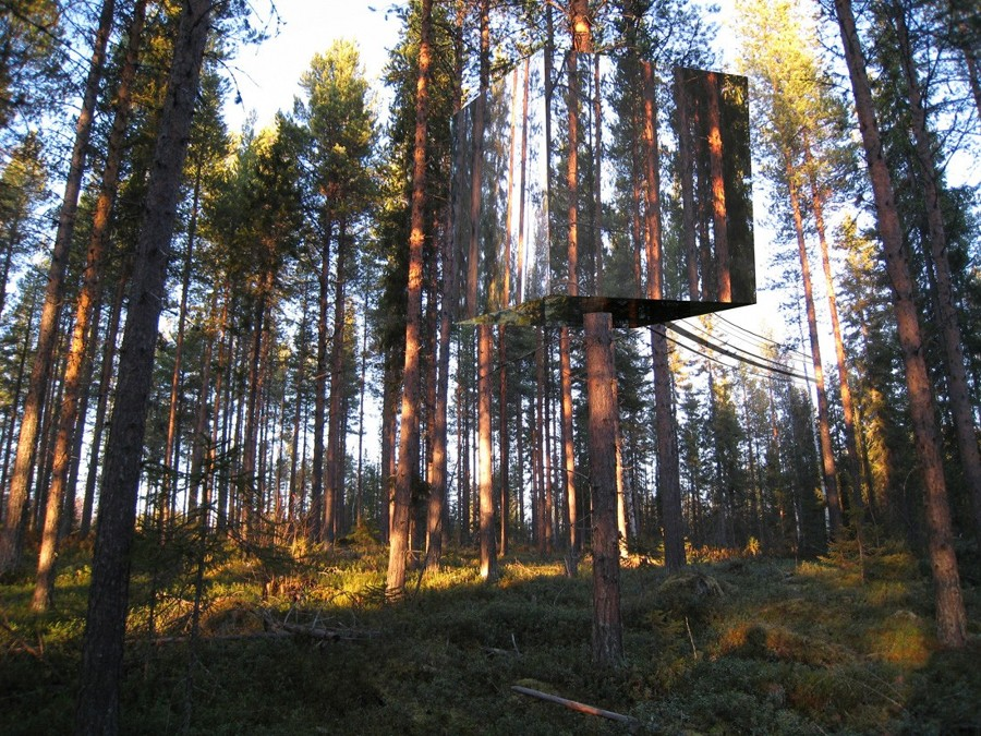 treehote Mirror Tree House
