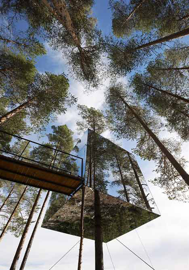 treehotel Mirror Tree House