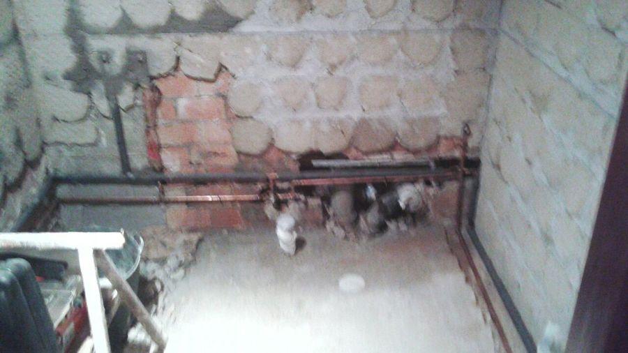 Tubería de fontanería nueva en cobre