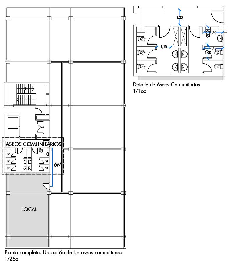 Foto ubicaci n de la oficina en planta piso de p rez for Ubicacion de las oficinas