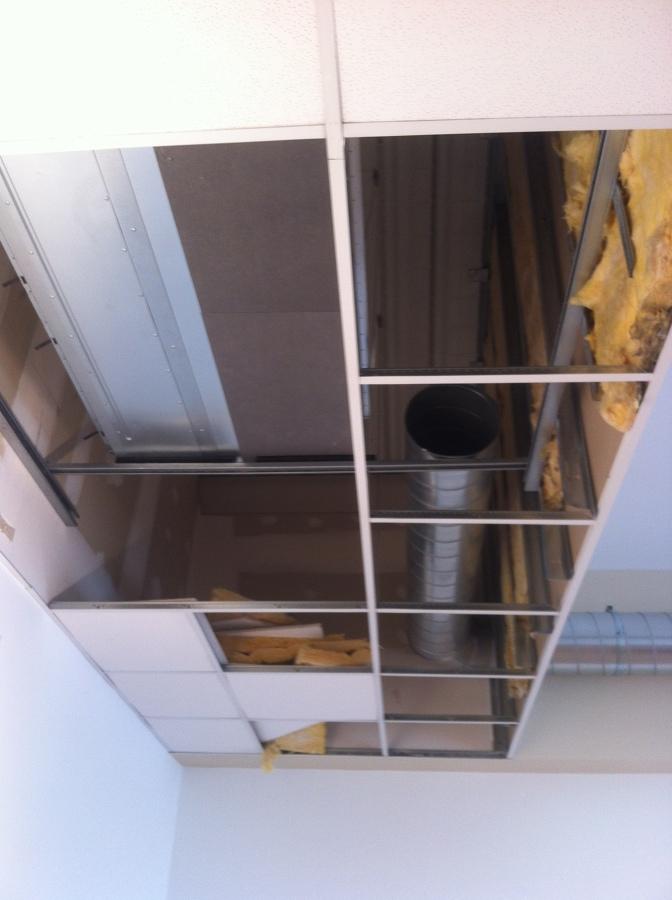 Ubicación de la unidad interior de refrigeración