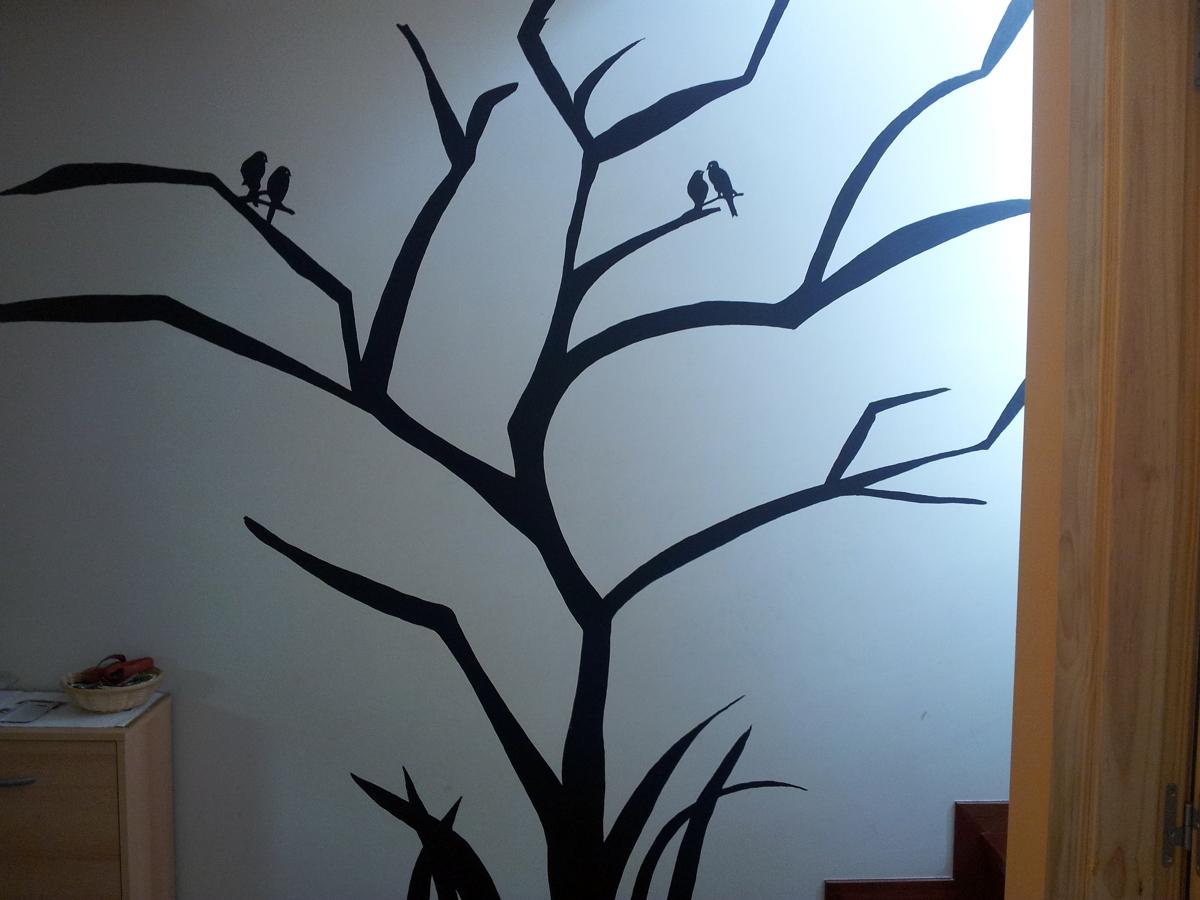 Foto un arbol seco de quique pintura y decoracion 291610 - Arboles secos para decoracion ...