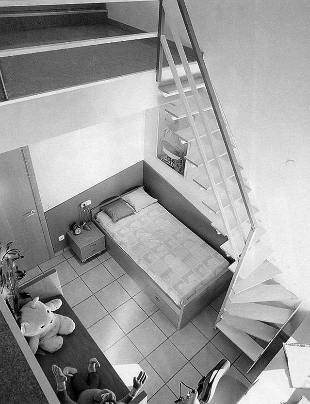 Unifamiliar en revista CASA VIVA_dormitorio infantil